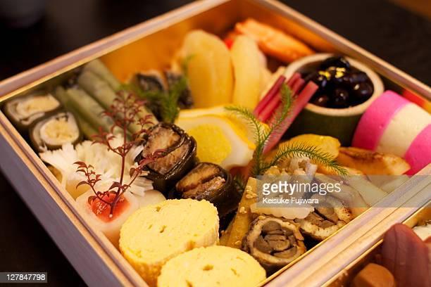 Osechi Ryori ( Japanese new year's dishes )