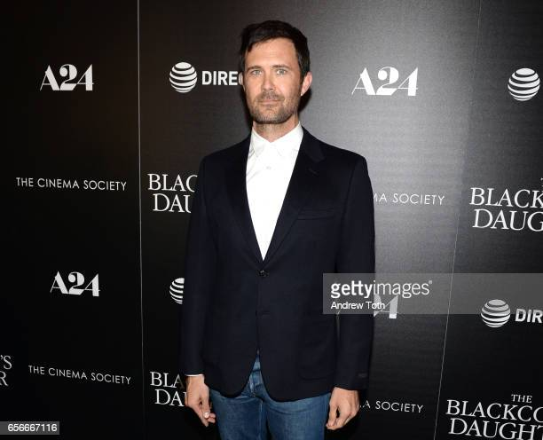 Osgood Perkins attends a screening of 'The Blackcoat's Daughter' hosted by A24 and DirecTV with The Cinema Society at Landmark Sunshine Cinema on...