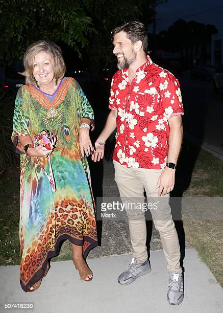 Osher Gunsberg enjoys the fun at the MKR launch party on January 27 2016 in Brisbane Australia