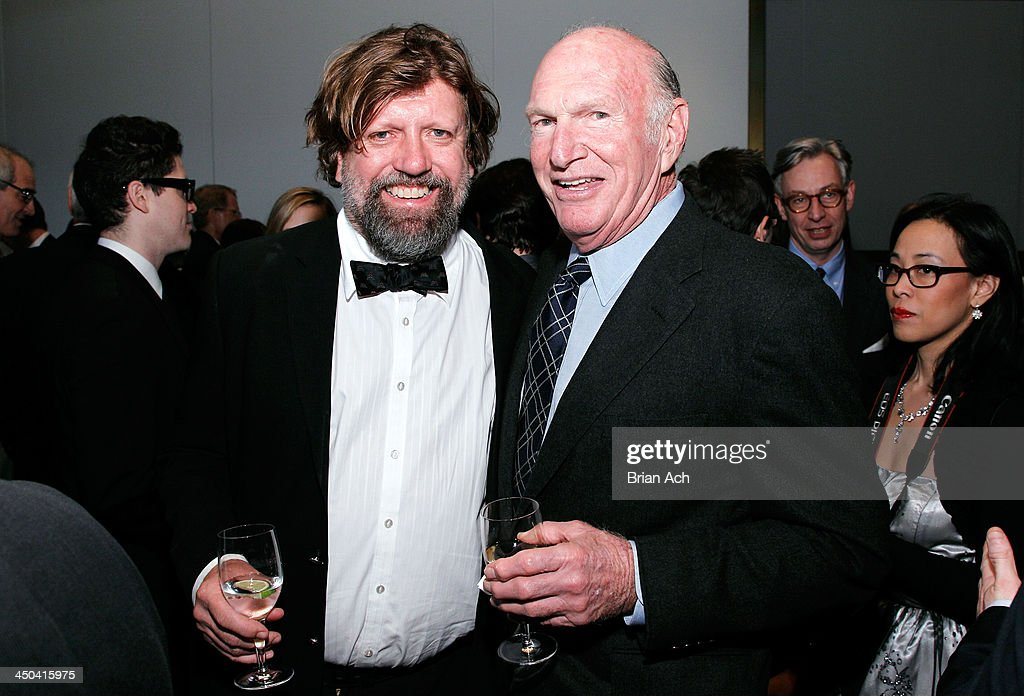 Oskar Eustis and Seth M. Weingarten attend The 2013 Steinberg Playwright 'Mimi' Awards presented by The Harold and Mimi Steinberg Charitable Trust at Lincoln Center Theater on November 18, 2013 in New York City.