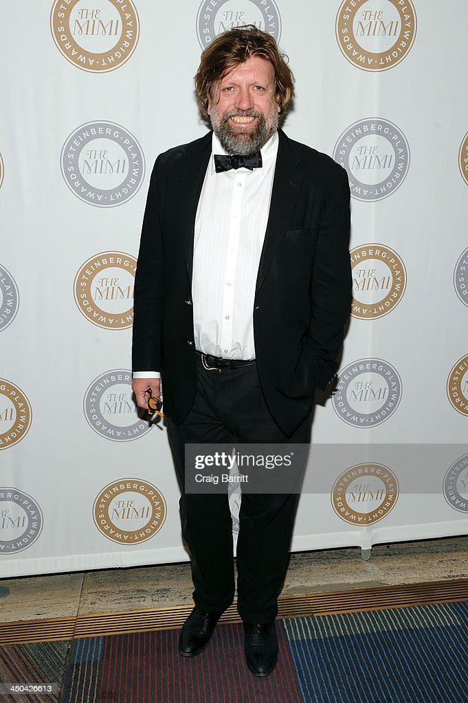 <a gi-track='captionPersonalityLinkClicked' href=/galleries/search?phrase=Oskar+Eustis&family=editorial&specificpeople=559040 ng-click='$event.stopPropagation()'>Oskar Eustis</a> attends The 2013 Steinberg Playwright 'Mimi' Awards presented by The Harold and Mimi Steinberg Charitable Trust at Lincoln Center Theater on November 18, 2013 in New York City.