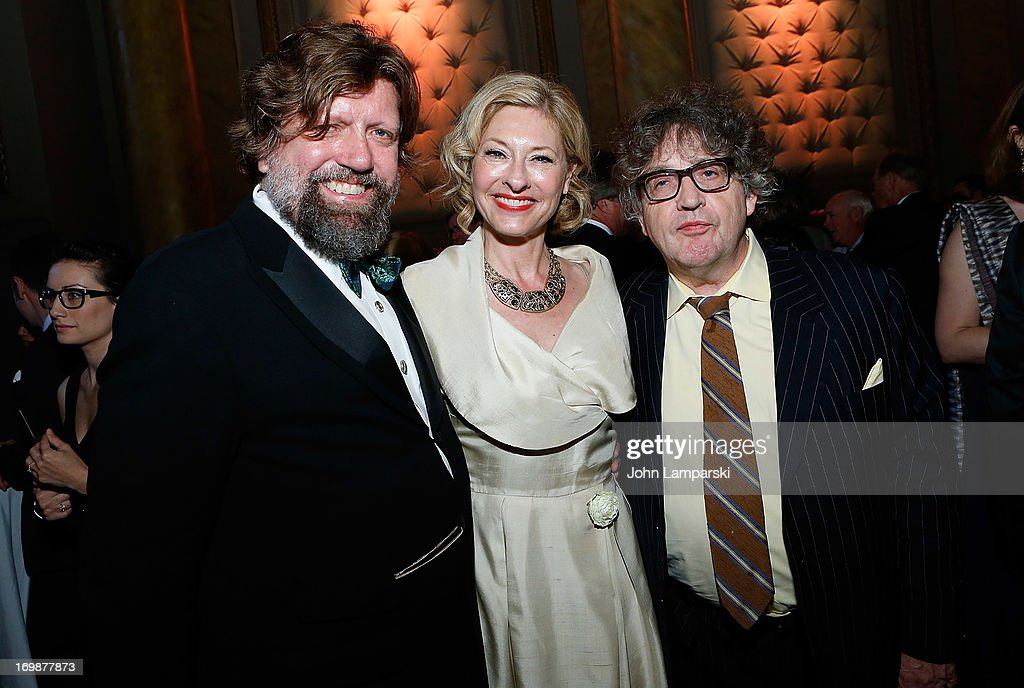 <a gi-track='captionPersonalityLinkClicked' href=/galleries/search?phrase=Oskar+Eustis&family=editorial&specificpeople=559040 ng-click='$event.stopPropagation()'>Oskar Eustis</a>, Paul Muldoon and guest attend the 2nd Annual Decades Ball at Capitale on June 3, 2013 in New York City.