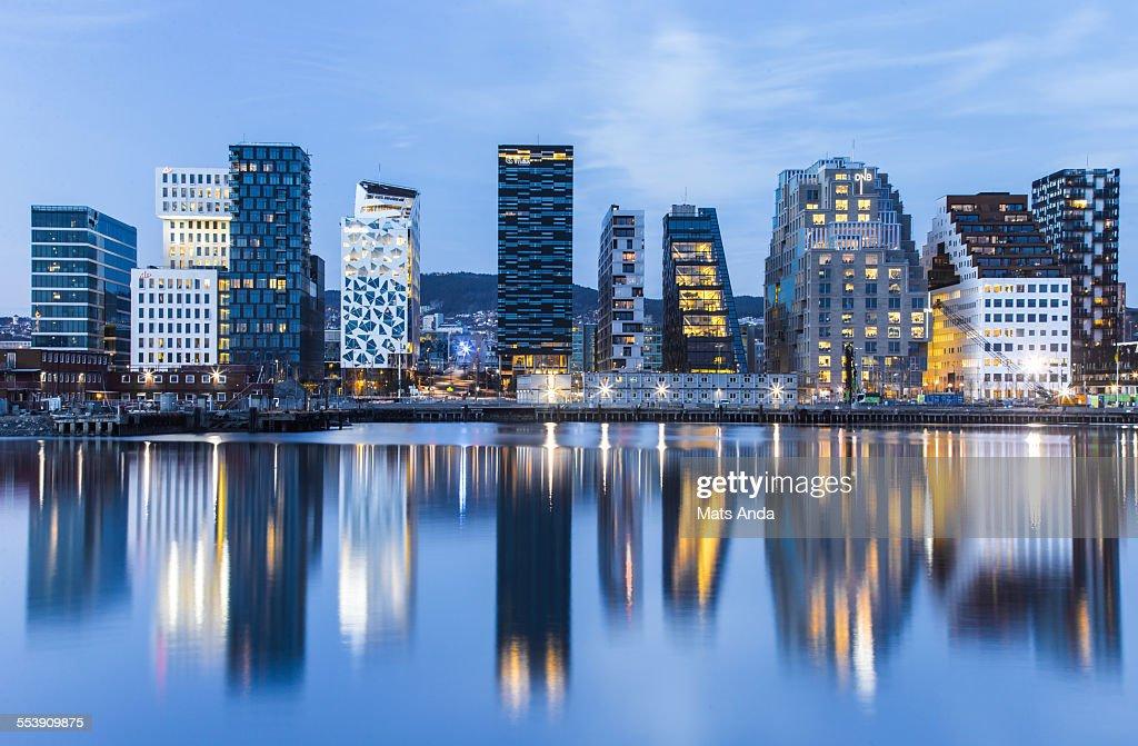 Oslo cityscape, Norway