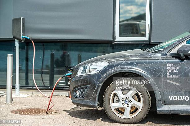 Oslo Opera House Electro Car charging