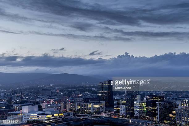 Oslo skyline, Norway.