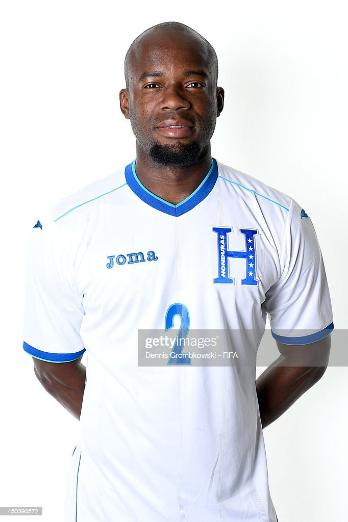 Osman Chavez of Honduras poses during the Official FIFA World Cup 2014 portrait session on June 10, 2014 in Porto Feliz, Brazil.
