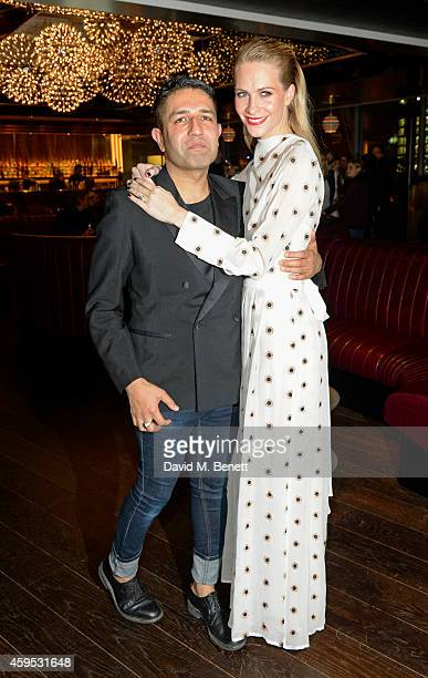 Osman Yousefzada and Poppy Delevingne attend as Osman Yousefzada and Poppy Delevingne celebrate the launch of the fourth issue of collaborative...