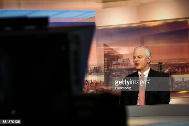 Osmar Abib cohead of global energy group at Credit Suisse Group AG speaks during a Bloomberg Television interview in New York US on Wednesday April 5...