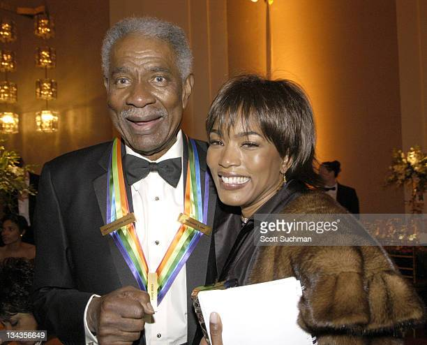 Ossie Davis and Angela Bassett during The Kennedy Center Honors Weekend at Kennedy Center in Washington DC Washington DC United States