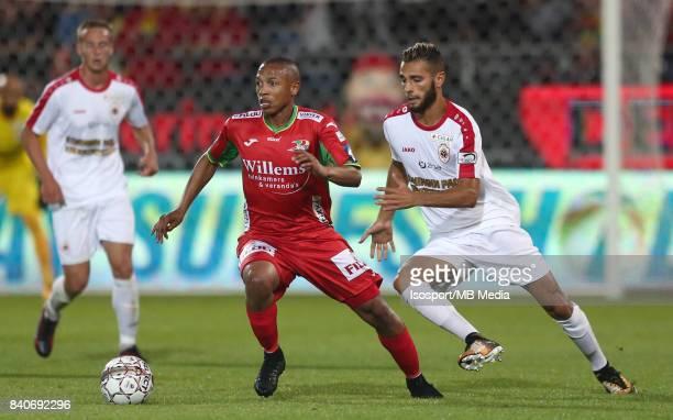 20170827 Ostend Belgium / Kv Oostende v Antwerp Fc / 'nAndile JALI Reda JAADI'nFootball Jupiler Pro League 2017 2018 Matchday 5 / 'nPicture by...