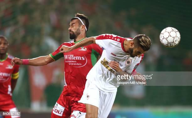 20170827 Ostend Belgium / Kv Oostende v Antwerp Fc / 'nRamin REZAEIAN Reda JAADI'nFootball Jupiler Pro League 2017 2018 Matchday 5 / 'nPicture by...