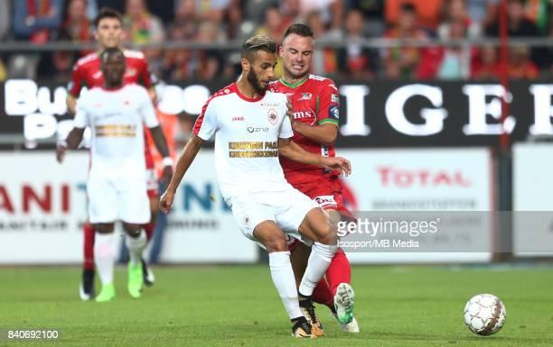 20170827 Ostend Belgium / Kv Oostende v Antwerp Fc / 'nReda JAADI Antonio MILIC'nFootball Jupiler Pro League 2017 2018 Matchday 5 / 'nPicture by...