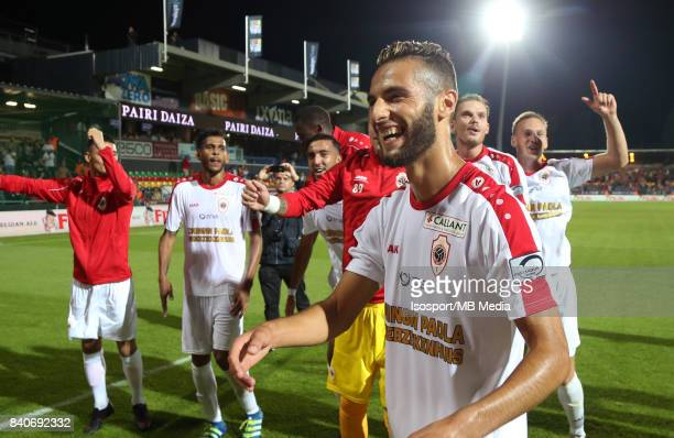 20170827 Ostend Belgium / Kv Oostende v Antwerp Fc / 'nReda JAADI Celebration'nFootball Jupiler Pro League 2017 2018 Matchday 5 / 'nPicture by...
