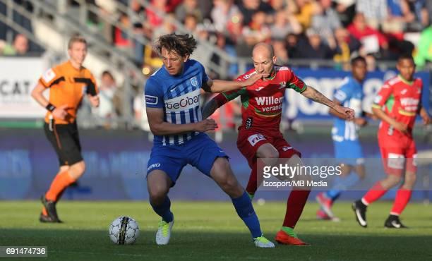 20170531 Ostend Belgium / Kv Oostende v Krc Genk / Sander BERGE Franck BERRIER / Football Jupiler Pro League 2016 2017 PlayOff Final / Picture by...