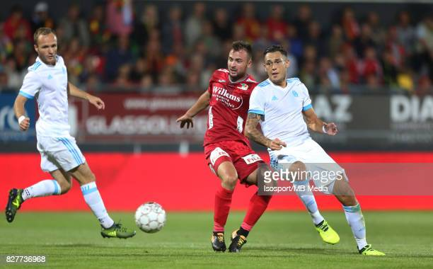 Kv Oostende v Olympique de Marseille / 'nAntonio MILIC Lucas OCAMPOS'nFootball Uefa Europa League 2017 2018 Third Qualifying round second leg /...