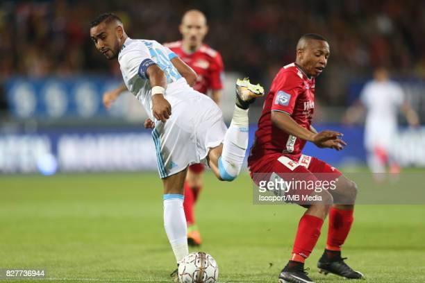Kv Oostende v Olympique de Marseille / 'nDimitri PAYET Andile JALI'nFootball Uefa Europa League 2017 2018 Third Qualifying round second leg /...