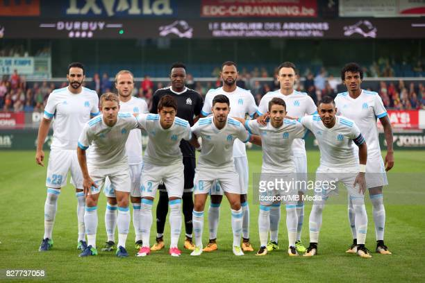 Kv Oostende v Olympique de Marseille / 'nTeam picture'nFootball Uefa Europa League 2017 2018 Third Qualifying round second leg / 'nPicture Vincent...