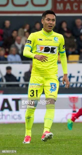 Ostend / KV Oostende vs KAA Gent Yuya KUBO Football Jupiler Pro League 2016 2017 PO 1 matchday 7 / Oostende Versluys Arena pict by FRANK