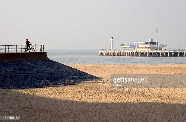 Ostend pier and seafront, Belgium