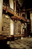 Osterreichische Nationalbibliothek The state room of the Austrian National Library in Vienna Austria The Austrian National library is the legal...