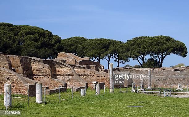Ostia Antica Baths of Neptune 1st 2nd centuries AD Palaestra Italy
