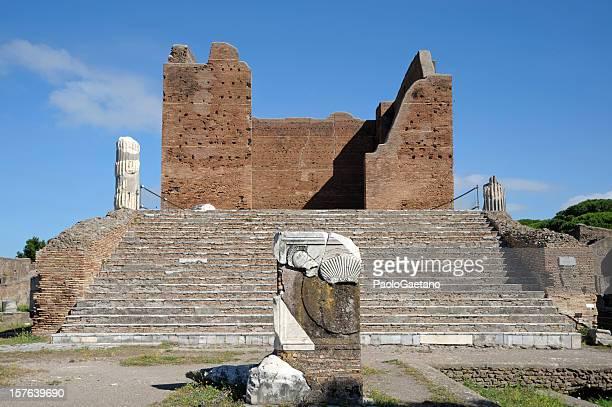 Ostia antica-Capitolium
