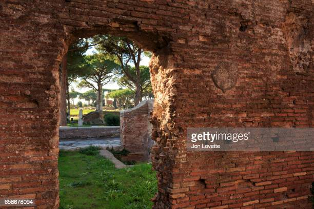 Ostia Antica Wall View