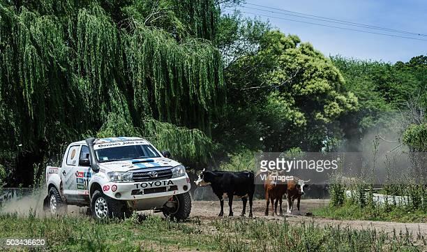 '374 Osvaldo Amor Eduardo Jose Luis Di Palma TOYOTA 4WD J''Le Dakar 2016''stage 2 Villa Carlos PazTermas de Rio Hondo '