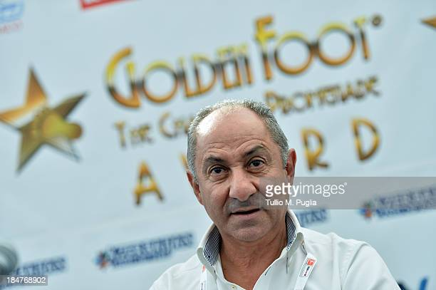 Osvaldo Ardiles attends the Golden Foot Award press conference at Grimaldi Forum on October 16 2013 in Monaco Monaco