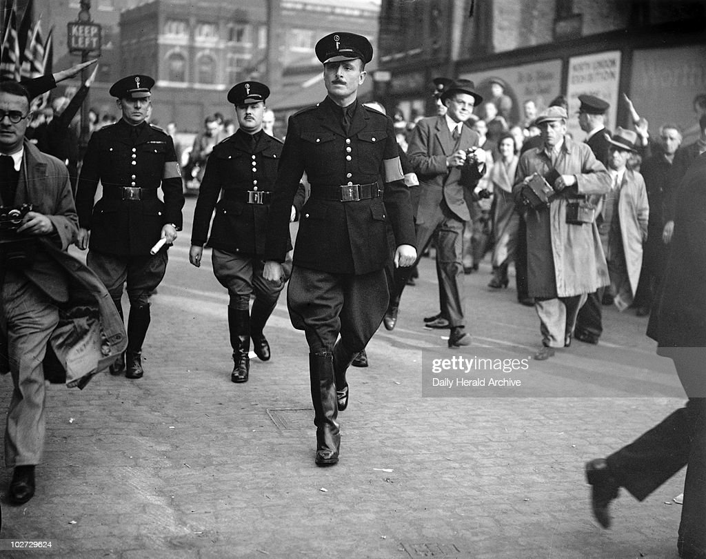 Oswald Mosley, English politician, 4 October 1936. ' Pictures ...