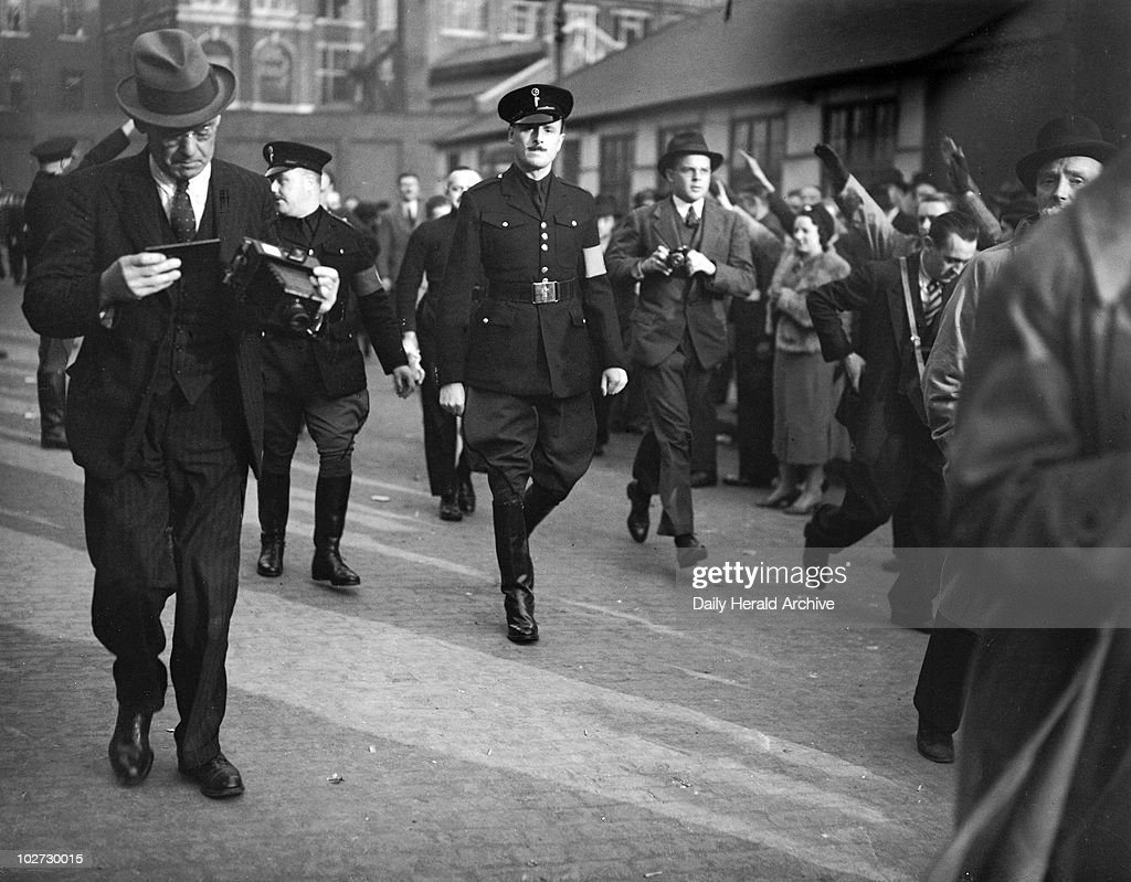 Oswald Mosley, English politician, 4 October 1936.' Pictures ...
