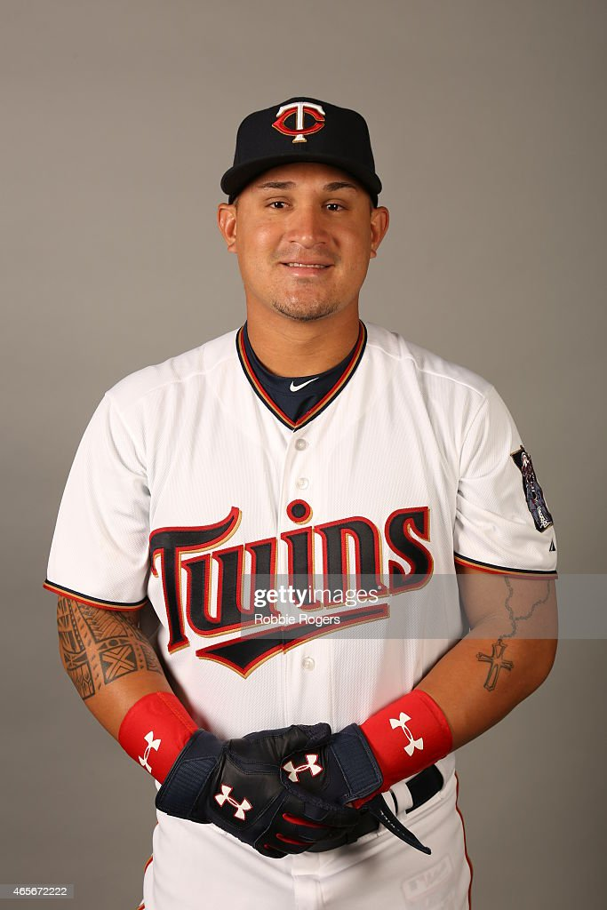 <a gi-track='captionPersonalityLinkClicked' href=/galleries/search?phrase=Oswaldo+Arcia&family=editorial&specificpeople=8948415 ng-click='$event.stopPropagation()'>Oswaldo Arcia</a> #31 of the Minnesota Twins poses during Photo Day on Tuesday, March 3, 2015 at Hammond Stadium in Fort Myers, Florida.