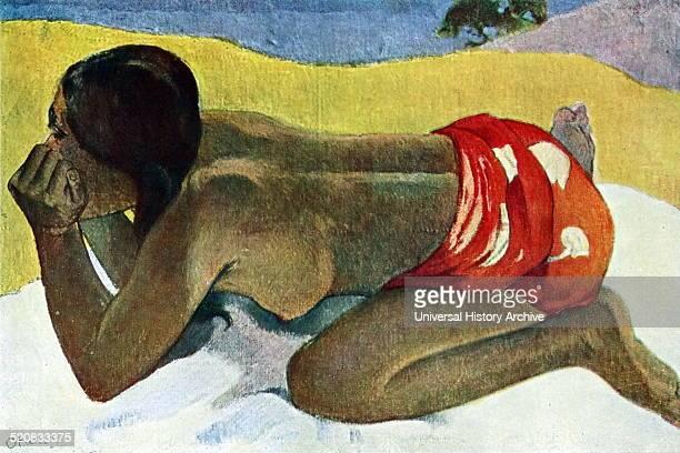 Otahi by Paul Gauguin 1893