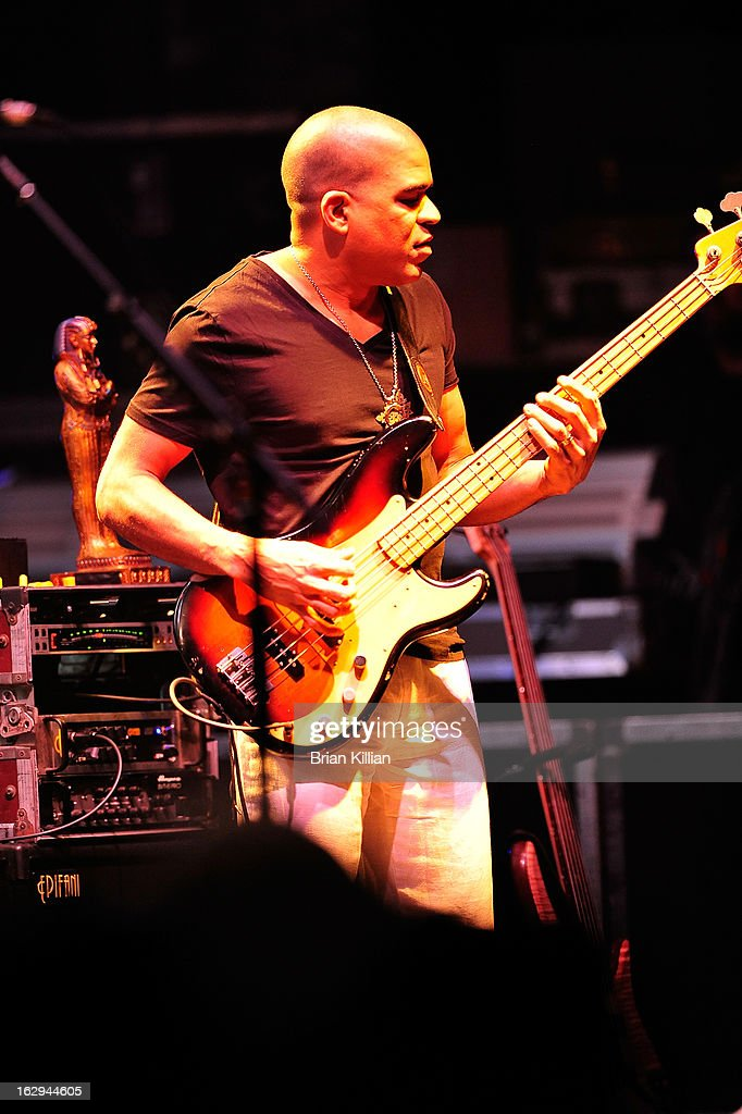Oteil Burbridge of The Allman Brothers Band performs at Beacon Theatre on March 1, 2013 in New York City.