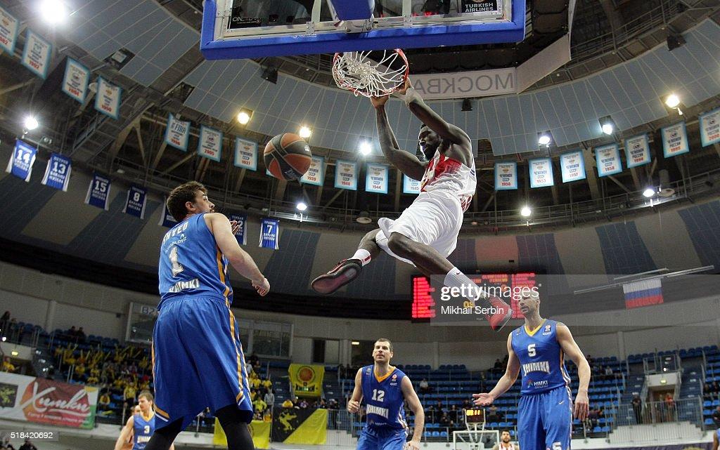 Khimki Moscow Region v Olympiacos Piraeus - Turkish Airlines Euroleague