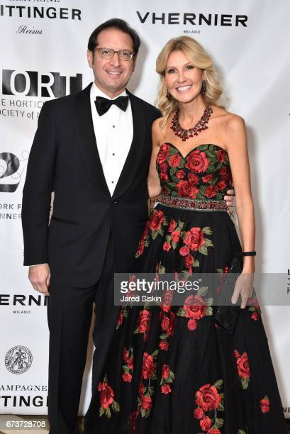 Othon Prounis and Kathy Prounis attend New York Flower Show Dinner Dance A Benefit for The Horticultural Society of New York at The Pierre Hotel on...