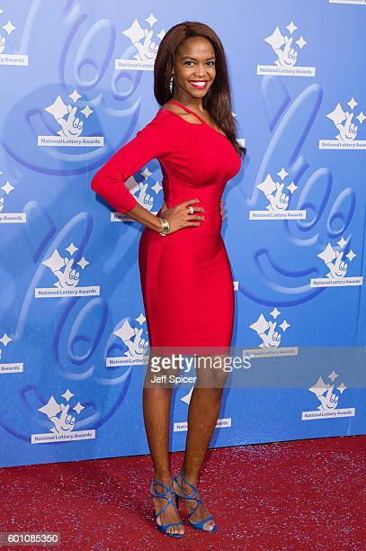 Oti Mabuse arrives for the National Lottery Awards 2016 at The London Studios on September 9 2016 in London England