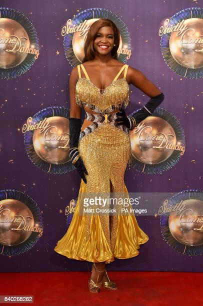 Oti Mabuse at the launch of Strictly Come Dancing 2017 at Broadcasting House in London