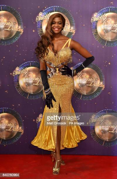 Oti Mabuse at the launch of Strictly Come Dancing 2017 at Broadcasting House in London PRESS ASSOCIATION Photo Picture date Monday August 28th 2017