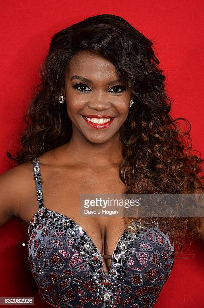 Oti Mabuse attends the photocall for the 'Strictly Come Dancing' live tour at the Barclaycard Arena on January 19 2017 in Birmingham England