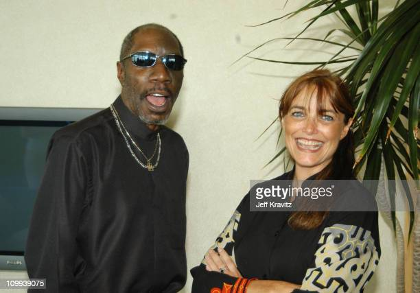 Otis Day and Karen Allen during Animal House 25th Anniversary Ultimate Homecoming Parade DVD Release Extravaganza at Hollywood Boulevard in Hollywood...