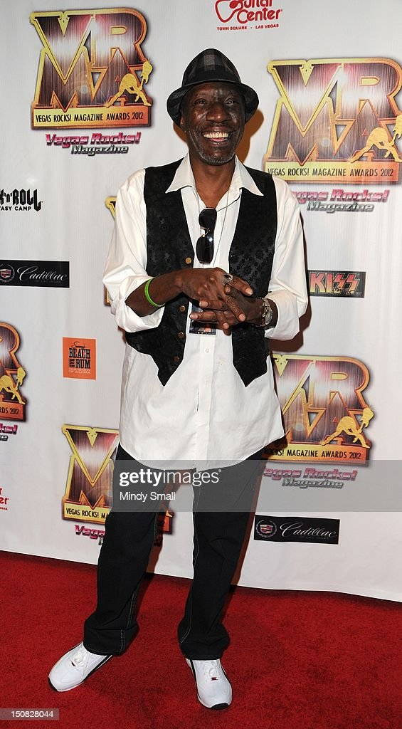Otis Day walks the red carpet at the Vegas Rocks! Magazine Awards on August 26, 2012 in Las Vegas, Nevada.