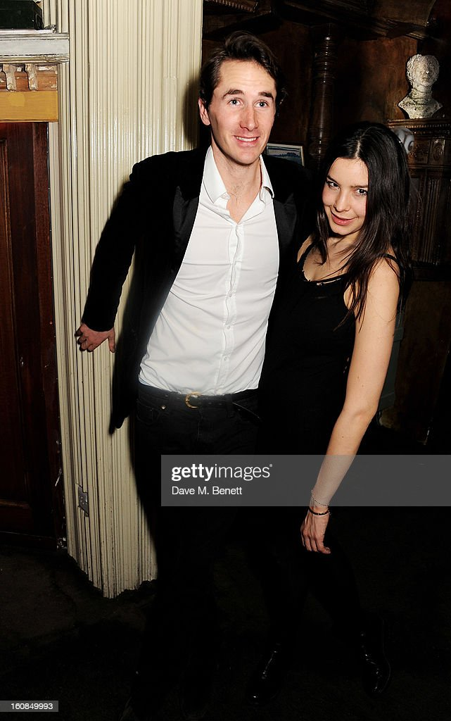 Otis Ferry (L) attends the 2nd Anniversary of The Box with Belvedere Vodka on February 6, 2013 in London, England.