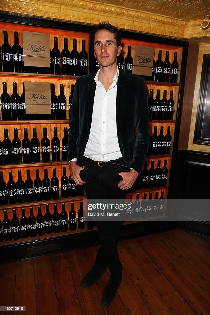 Otis Ferry attends the Kiehl's private dinner to celebrate Kiehl's most iconic products at Balthazar Restaurant on March 26, 2014 in London, England.