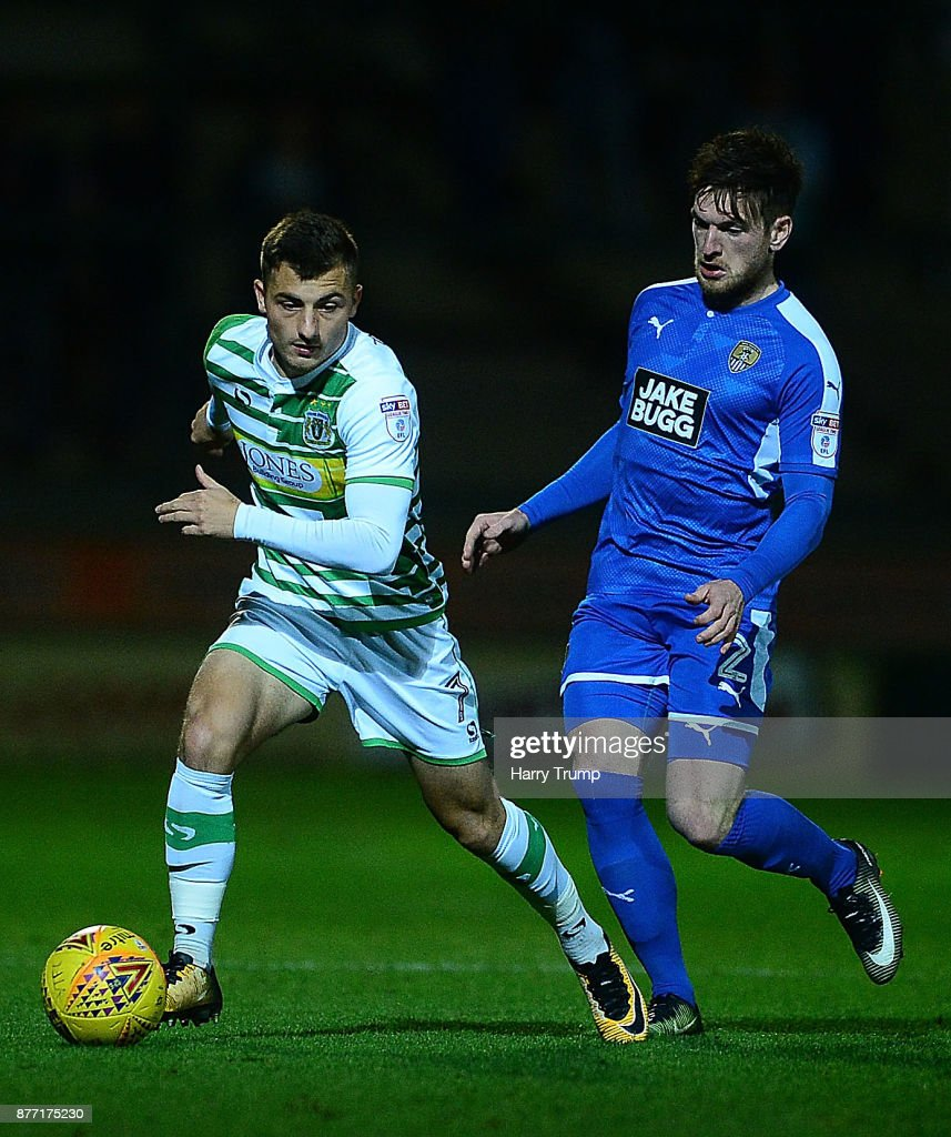 Yeovil Town v Notts County - Sky Bet League Two