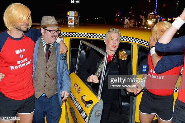 Otis Mass and Rose Hartman attend the DOC NYC Premiere 'The Incomparable Rose Hartman' at IFC Center on November 13 2016 in New York City