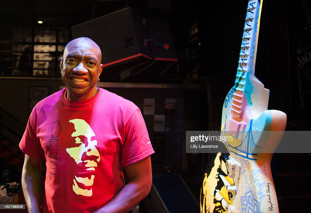 Otis Redding III attends the Sunset Strip art guitar tribute to Otis Redding atThe Whiskey A Go Go on July 15, 2014 in West Hollywood, California.