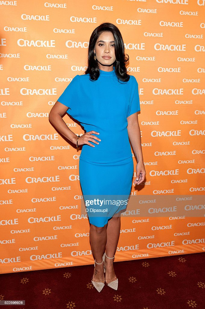 Otmara Marrero attends Crackle's 2016 Upfront Presentation at New York City Center on April 20 2016 in New York City