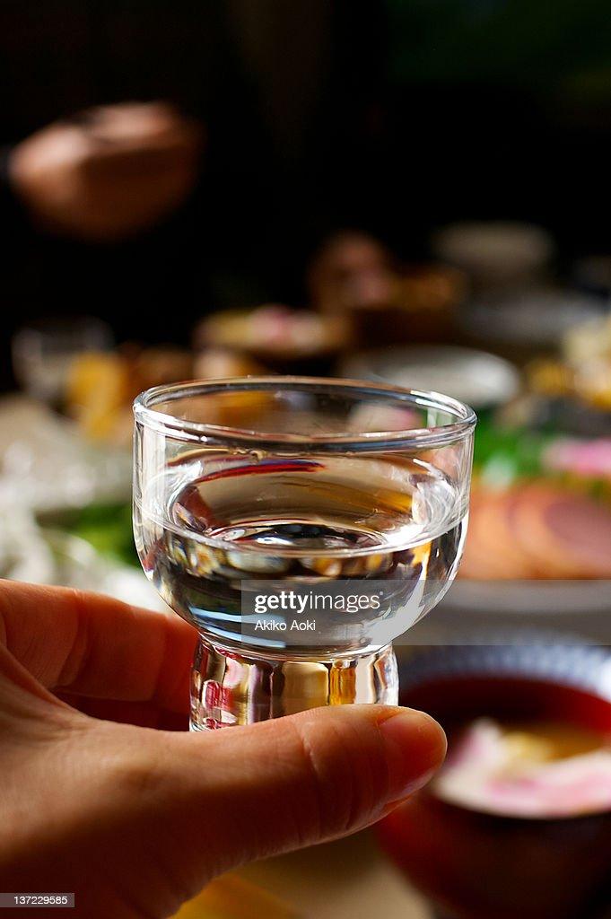 Otoso, spiced sake : Stock Photo