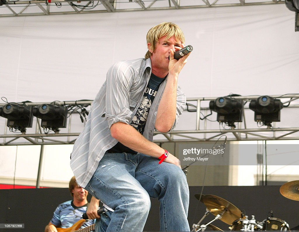 O-Town during 102.7 KIIS FM's Wango Tango 2003 - The Ultimate Reality Show at Rose Bowl Stadium in Pasadena, California, United States.